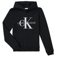 Îmbracaminte Copii Hanorace  Calvin Klein Jeans TRINIDA Negru
