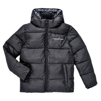 Îmbracaminte Băieți Geci Calvin Klein Jeans LITHERA Negru