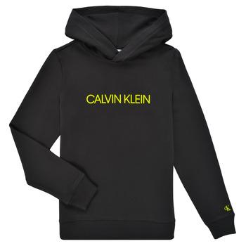 Îmbracaminte Copii Hanorace  Calvin Klein Jeans ZOPLINA Negru