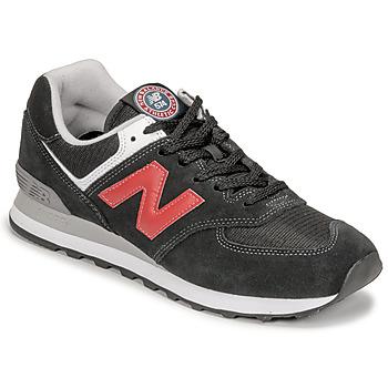 Pantofi Bărbați Pantofi sport Casual New Balance 574 Negru / Roșu