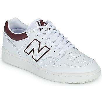 Pantofi Bărbați Pantofi sport Casual New Balance 480 Alb / Bordo