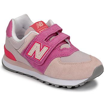 Pantofi Fete Pantofi sport Casual New Balance 574 Roz / Violet