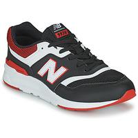 Pantofi Băieți Pantofi sport Casual New Balance 997 Negru / Roșu