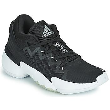 Pantofi Basket adidas Performance D.O.N. ISSUE 2 Negru /  blan