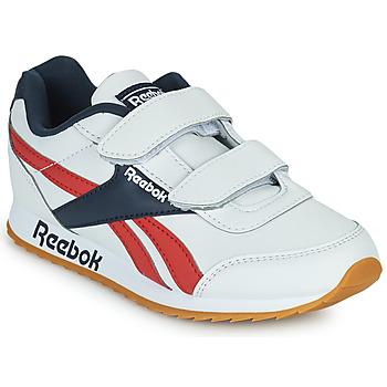 Pantofi Copii Pantofi sport Casual Reebok Classic REEBOK ROYAL CLJOG 2 2V Alb / Albastru / Roșu