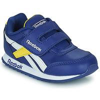 Pantofi Copii Pantofi sport Casual Reebok Classic REEBOK ROYAL CLJOG 2  KC Albastru / Galben / Alb