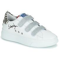 Pantofi Femei Pantofi sport Casual Semerdjian BARRY Alb / Argintiu