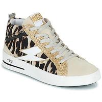 Pantofi Femei Pantofi sport stil gheata Semerdjian CIELLO Bej / Auriu