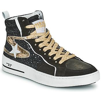 Pantofi Femei Pantofi sport stil gheata Semerdjian MARAL Negru / Auriu