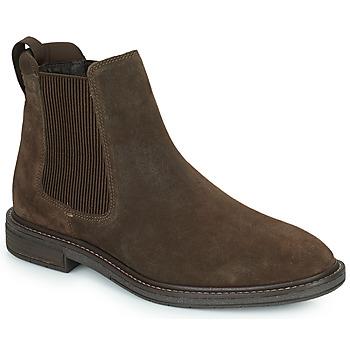 Pantofi Bărbați Ghete Clarks CLARKDALE HALL Maro