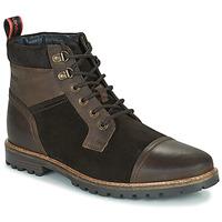 Pantofi Bărbați Ghete Base London ROGAN Maro
