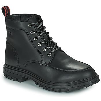 Pantofi Bărbați Ghete Base London ROCHDALE Negru