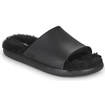 Pantofi Femei Șlapi Melissa MELISSA FLUFFY SIDE AD Negru