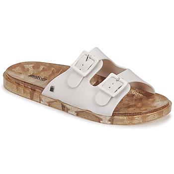 Pantofi Femei Papuci de vară Melissa MELISSA WIDE AD Alb