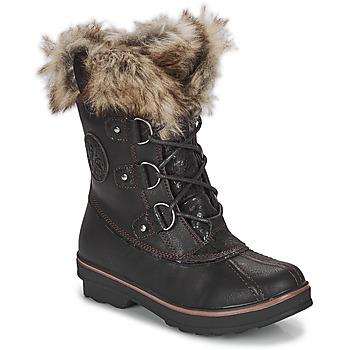 Pantofi Femei Cizme de zapadă Kimberfeel CAMILLE Negru