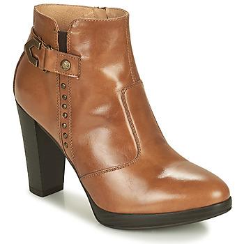 Pantofi Femei Botine NeroGiardini ASPERGO Coniac