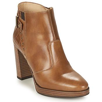 Pantofi Femei Botine NeroGiardini DAIKONO Coniac