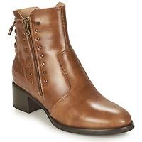 Pantofi Femei Botine NeroGiardini ENDIVO Coniac