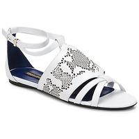 Pantofi Femei Sandale  Roberto Cavalli TPS918 Alb