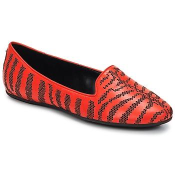 Pantofi Femei Mocasini Roberto Cavalli TPS648 Roșu