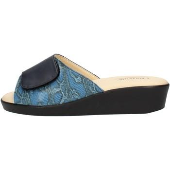 Pantofi Femei Papuci de vară Clia Walk COMFORT310 Blue