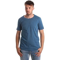 Îmbracaminte Bărbați Tricouri & Tricouri Polo Gaudi 911BU64027 Albastru