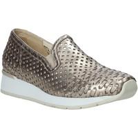 Pantofi Femei Pantofi Slip on Melluso HR20006 Aur