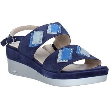 Pantofi Femei Sandale  Melluso HR70717 Albastru