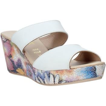Pantofi Femei Papuci de vară Melluso H037042 Alb