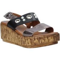 Pantofi Femei Sandale  Melluso HK55056F Gri