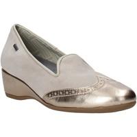 Pantofi Femei Mocasini Melluso H08121 Bej