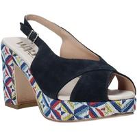 Pantofi Femei Sandale  Melluso H037080 Albastru