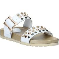 Pantofi Femei Papuci de vară Melluso HK80086 Alb