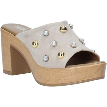 Pantofi Femei Papuci de vară Melluso HR80101 Gri