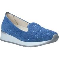 Pantofi Femei Mocasini Melluso HR20021 Albastru