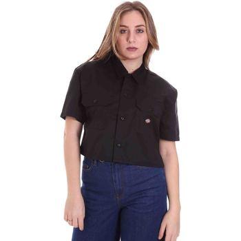 Îmbracaminte Femei Cămăși și Bluze Dickies DK0A4XE1BLK1 Negru