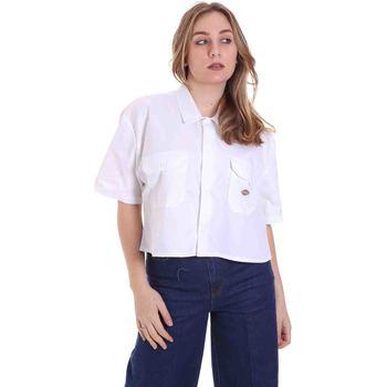 Îmbracaminte Femei Cămăși și Bluze Dickies DK0A4XE1WHX1 Alb