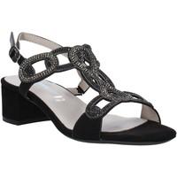 Pantofi Femei Sandale  Valleverde 45140 Negru