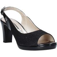 Pantofi Femei Sandale  Valleverde 28340 Negru