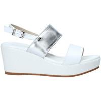 Pantofi Femei Sandale  Valleverde 32212 Alb