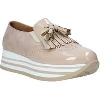 Pantofi Femei Mocasini Grace Shoes MAR016 Roz