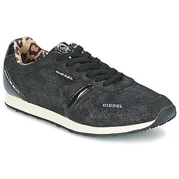 Pantofi Femei Pantofi sport Casual Diesel METAL Negru