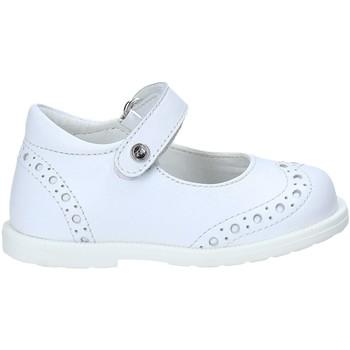 Pantofi Fete Balerin și Balerini cu curea Falcotto 2014103 04 Alb