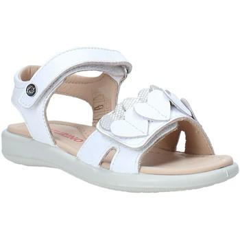 Pantofi Fete Sandale  Naturino 502857 01 Alb