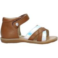 Pantofi Fete Sandale  Naturino 502678 02 Maro