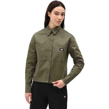 Îmbracaminte Femei Cămăși și Bluze Dickies DK0A4XETMGR1 Verde