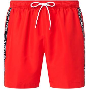 Îmbracaminte Bărbați Maiouri și Shorturi de baie Calvin Klein Jeans KM0KM00558 Roșu