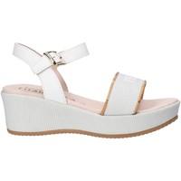 Pantofi Fete Sandale  Alviero Martini 0647 0911 Alb