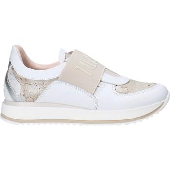 Pantofi Copii Pantofi Slip on Alviero Martini 0609 0919 Alb