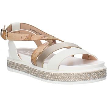 Pantofi Fete Sandale  Alviero Martini 0578 0326 Alb